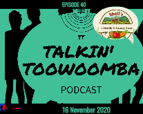 EP 40 Featured Image Talkin' Toowoomba Podcast