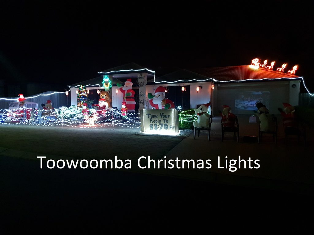 EP 44 Christmas lights 1 Talkin' Toowoomba